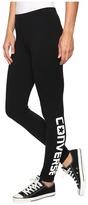 Converse Core Wordmark Leggings Women's Casual Pants