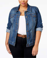 Style&Co. Style & Co Plus Size Denim Jacket, Only at Macy's