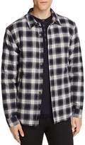 Velvet Brennon Plaid Fleece Lined Regular Fit Shirt Jacket