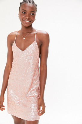 Urban Outfitters Confetti Sequin Mini Dress