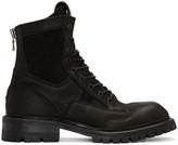 Julius Black Combat Boots