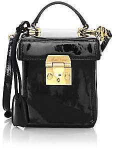Mark Cross Women's Grace Cube Patent Leather Crossbody Bag