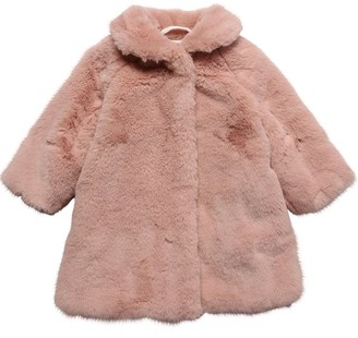 Il Gufo Faux Fur Coat