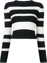 Proenza Schouler striped sweater - women - Silk/Viscose/Cashmere/Wool - M