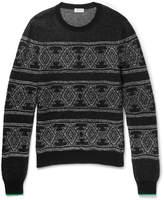 Saint Laurent - Jacquard-knit Sweater
