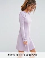 Asos 80's Rib Skater Dress