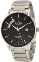 Edox Men's 83011 3N NIN Les Vauberts Automatic Dial Stainless Steel Watch