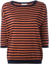 Societe Anonyme light striped top - women - Cotton - 1