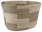 Merchant Silver Floor Basket