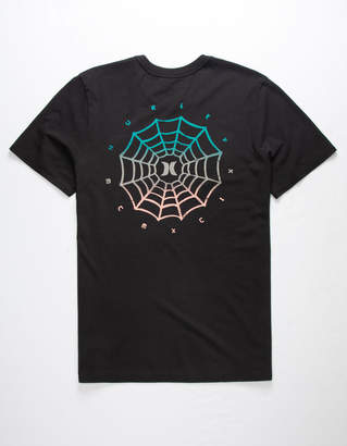 Hurley Web Logo Benzo Mens T-Shirt