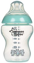 Tommee Tippee Closer to Nature Decorated Bottles - Blue - 9 oz - 2 ct