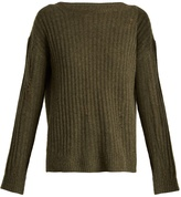 Nili Lotan Baxter distressed cashmere sweater