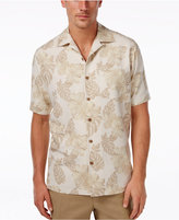 Tasso Elba Men's 100% Silk Print Short-Sleeve Shirt, Only at Macy's