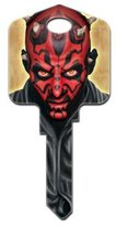 Star Wars Darth Maul Kwikset KW1 House Key