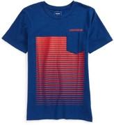 Converse Boy's Linear Ombre Pocket T-Shirt
