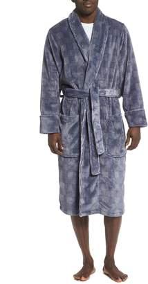 Nordstrom Check Fleece Robe