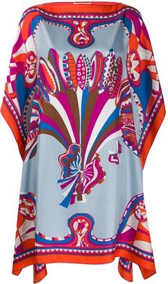 Emilio Pucci Corsico print silk dress