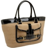 Magid Paper Straw and Patent Tote