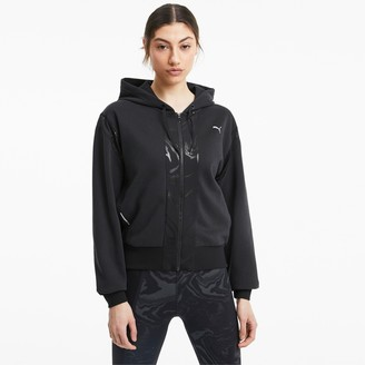 Puma Metallic Women's Full Zip Training Hoodie