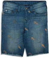 True Religion Boys' Surf Print Geno Shorts - Sizes 8-18