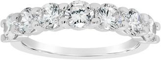 Affinity Diamond Jewelry Affinity 1.75 cttw Diamond 7-Stone Band Ring, 14K Gold