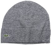 Lacoste Men's Classic Wool-Blend Fold-Up Beanie