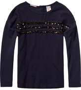 Scotch & Soda Sequined Top
