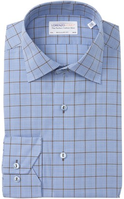 Lorenzo Uomo Check Long Sleeve Regular Fit Shirt