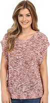 Lucky Brand Women's Marled Pullover Sweater