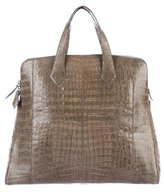 Nancy Gonzalez Crocodile Dome Tote