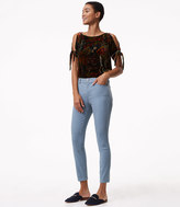 LOFT Leggings in Back Zip Sateen Five Pocket in Marisa Fit