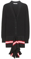Givenchy Striped cotton-blend cardigan