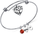 Unwritten Sun, Moon and Stars Charm Bracelet in Stainless Steel