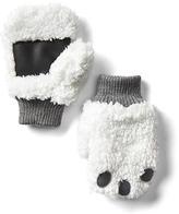 Gap Cozy yeti mittens