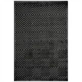 Momeni Platinum Diamonds Runner Rug