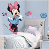 BuySeasons Disney Minnie Mouse Giant Wall Decal