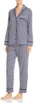 Kate Spade Notch Collar Long Pajama Set