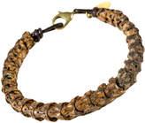 Astali Beaded Snake Vertebrae Bracelet
