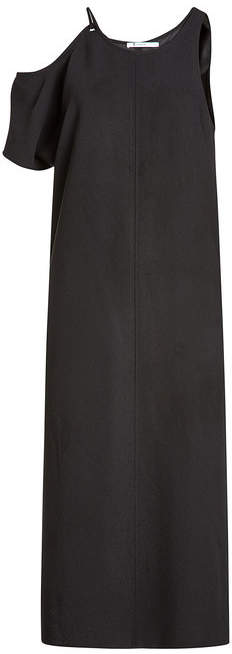 Alexander Wang Maxi Dress with Asymmetric Sleeves