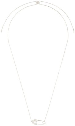 APM Monaco Safety Pin Necklace