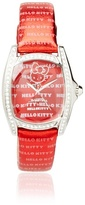 Hello Kitty CT.7094SS-28 Stainless Steel Red Leather Watch