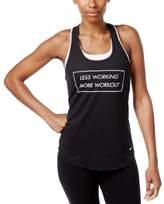 Nike Womens Dri-Fit Graphic Tank Top