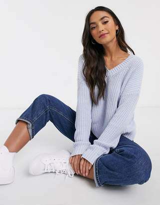 Hollister v-neck jumper