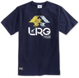 Lrg Men's Tree Illusion Graphic-Print Logo Cotton T-Shirt