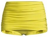Thumbnail for your product : Norma Kamali Bill Ruched Bikini Bottoms