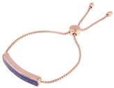 Monica Vinader Vermeil Lapis Lazuli Baja Chain Bracelet