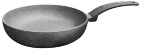 """Amercook Aluminum Round Deep Fry Pan, Skillet with Induction Buttom 10"""""""