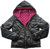 Duvetica Grey Leather Jacket for Women