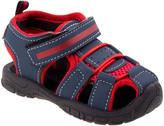 Rugged Bear Boys' Sandals NAVY - Navy & Red Closed-Toe Sandal - Boys