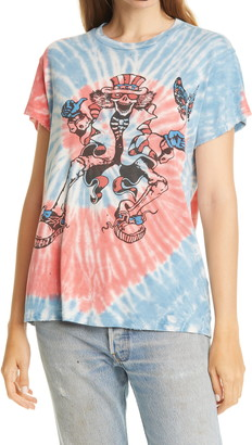 MadeWorn Grateful Dead Graphic Tie Dye Tee